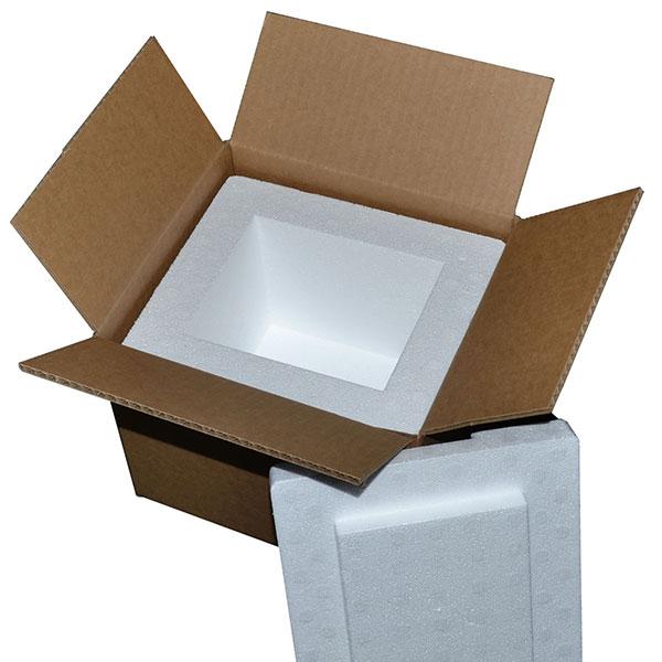 carton polystyrène